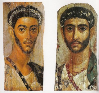 2 soldiers: Fayum 110 AD